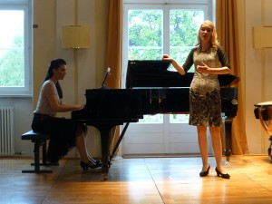 with Celina Hubmann, Soprano